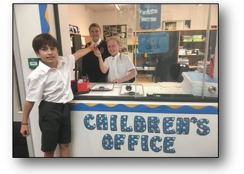 Children's School Office - now open for business!