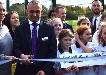 Samuel Ryder Academy open 3G pitches