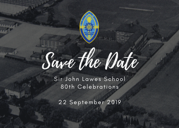 Sir John Lawes turns 80! Save the Date