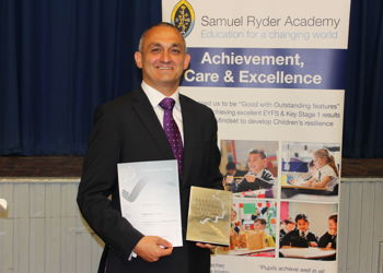 Matt Gauthier, SRA Headteacher scoops silver award